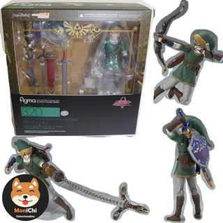 Link Twilight Princess Dx 320 Ed Figma Nuevo Bootleg $950