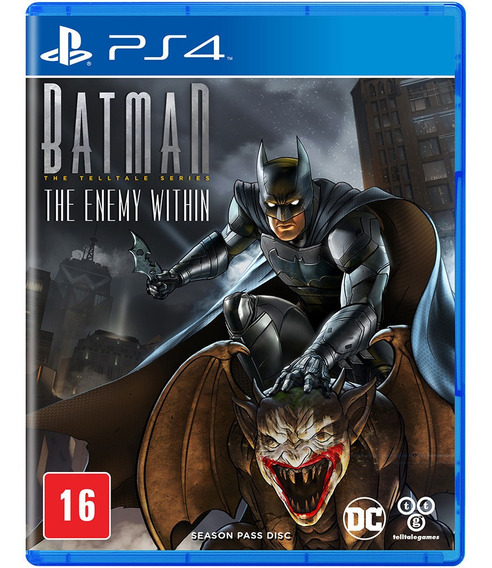 Batman The Enemy Within The Telltale Series Ps4 Mídia Física