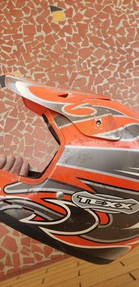 Capacete Cross Moto Texx 58