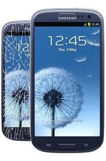 Vidrio Pantalla Glass Galaxy S3 I9300 Azul + Gorila