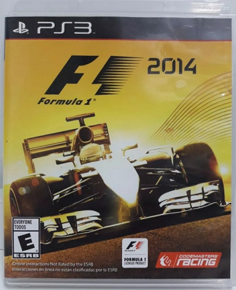 Formula 1 2014 Ps3 F1 2014 Playstation 3 Midia Fisica