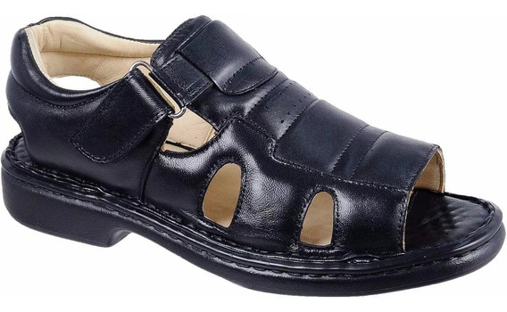 Calçado Sandália Anti Stress Masculina Bergally Lançamento