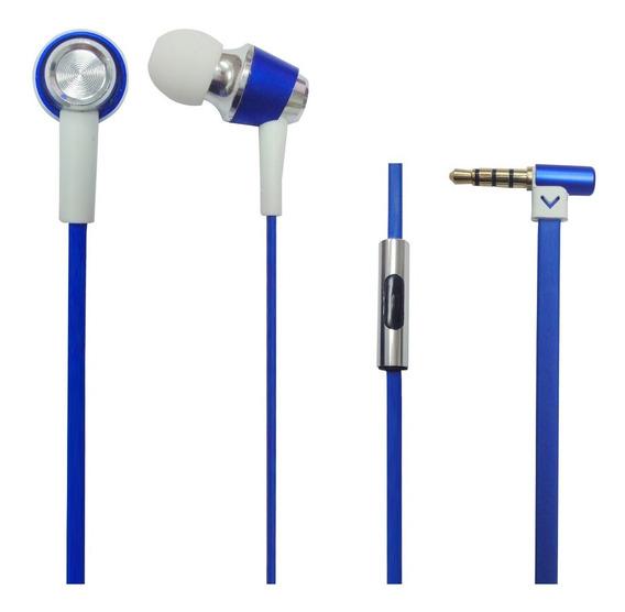 Fone De Ouvido Intrauricular C/microfone Eh600 Azul Proel