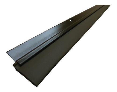Guarda Polvo Para Puerta 1 Metro En Aluminio Y Goma Pvc