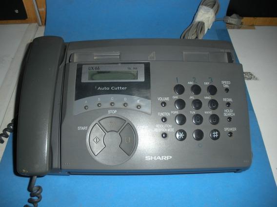 Fax - Marca Sharp / Ux 66 - Para Desocupar Lugar