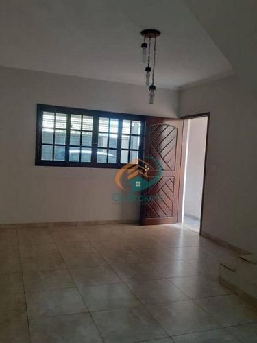 Imagem 1 de 30 de Sobrado À Venda, 224 M² Por R$ 590.000,00 - Jardim Aeródromo - Guarulhos/sp - So0800