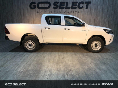 Toyota Hilux Dx 4x2 Diesel 2017 Blanco Excelente Estado
