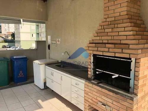 Imagem 1 de 12 de Apartamento Com 2 Dormitórios À Venda, 54 M² Por R$ 300.000,00 - Urbanova - São José Dos Campos/sp - Ap7708