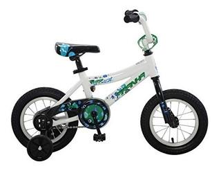 Piraña Pi1206-2-jv Pronto - Bicicleta De 12 Niños Color Az