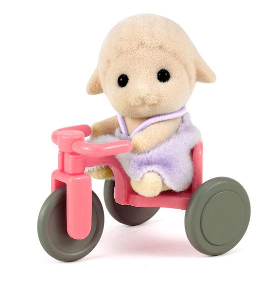 Sylvanian Families - Bebê Ovelha Com Triciclo - Epoch