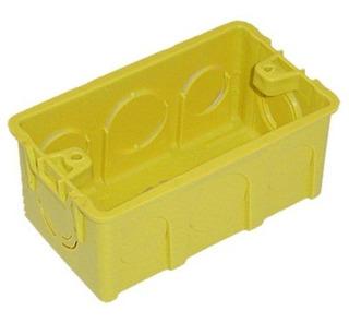 Caixa Plastica 4x2 Luz Amarela Cx/30