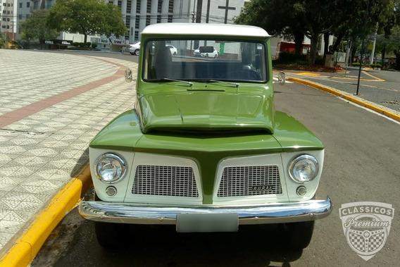Ford Rural Willys 1974 74 - Original - 42.000 Km - Verde