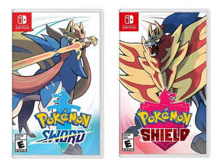 Pokemon Shield / Pokemon Sword Nintendo Switch -disponible