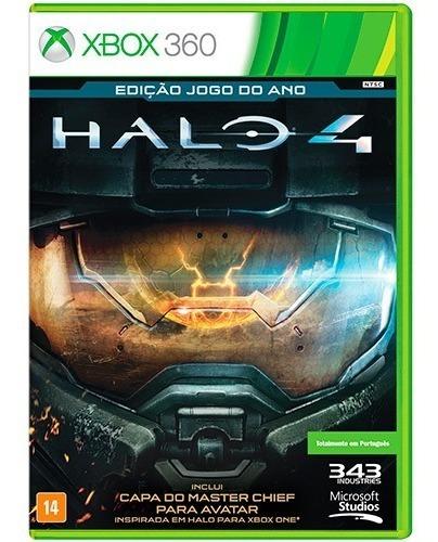 Jogo Xbox 360 Halo 4 - Ed. Jogo Do Ano - Novo - Lacrado