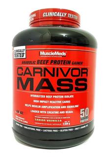 Proteina Musclemeds Carnivor Mass 5.9 Lbs Envio Gratis