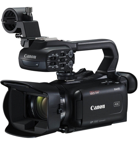 Filmadora Canon Xa45 Uhd 4k Profissional Zoom Óptico 20x Hd