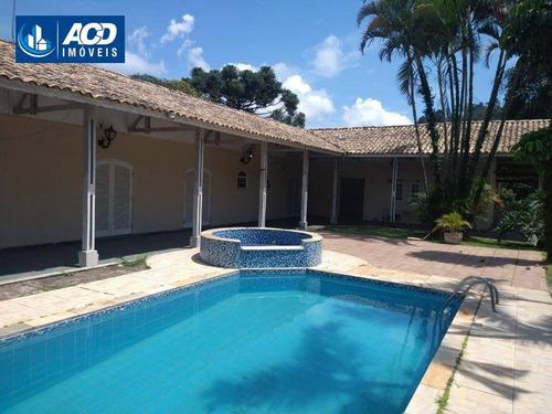 Chácara Com 4 Dormitórios À Venda, 800 M² Por R$ 650.000,00 - Água Azul - Guarulhos/sp - Ch0037