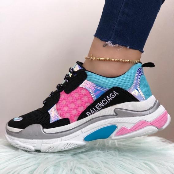 Zapatos Hermosos Tenis Dama Zapatillas Dama Zapatos Mujer