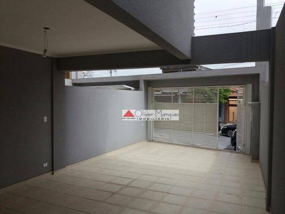 Sobrado Com 3 Dormitórios À Venda, 200 M² Por R$ 700.000,00 - Jardim Das Flores - Osasco/sp - So1671