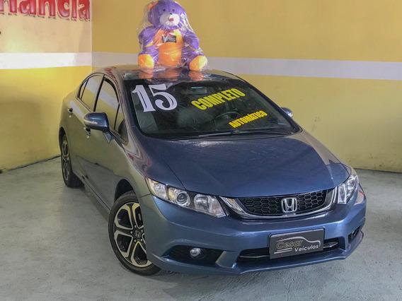 Honda Civic 2.0 Lxr Flex 2015 Automático