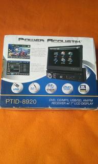 Reproductor De Dvd Power Acoustik. Ptid-8920
