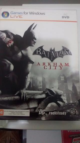 Batman: Arkham City Com Hq Edição Especial -game Pc Original