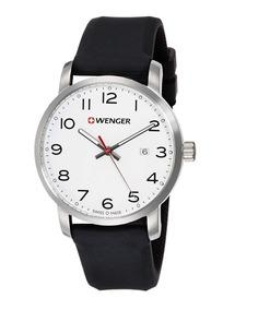 Relógio De Pulso Suíço Wenger Linha Avenue 42mm 01.1641.103
