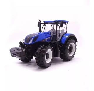 Miniatura Trator Agrícola T7.315 New Holland 1:32 Burago