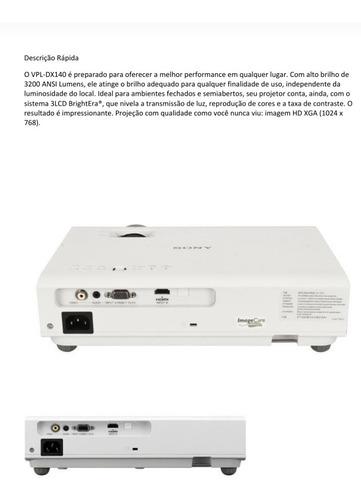 Projetor Sony Vpl-dx140b