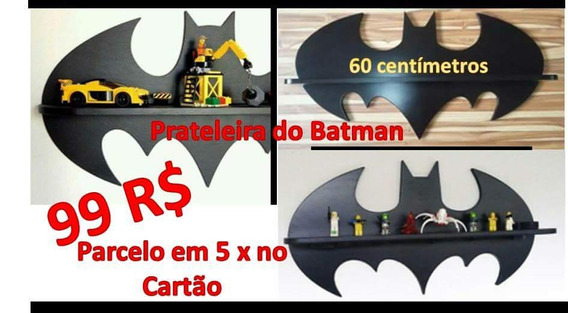 Prateleira Do Batman Barato