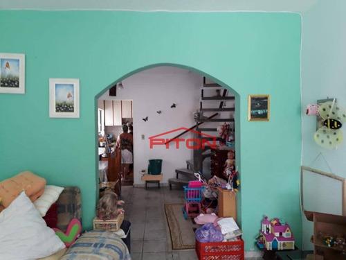 Imagem 1 de 15 de Sobrado Com 4 Dormitórios À Venda, 180 M² Por R$ 600.000,00 - Vila Ré - São Paulo/sp - So2175