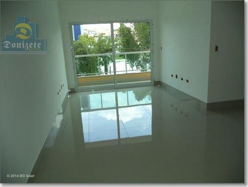 Cobertura Com 3 Dormitórios À Venda, 160 M² Por R$ 500.000,00 - Vila Guiomar - Santo André/sp - Co0614