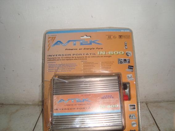Inversol Avtek Modelo In-600 1.200 Watts Leer