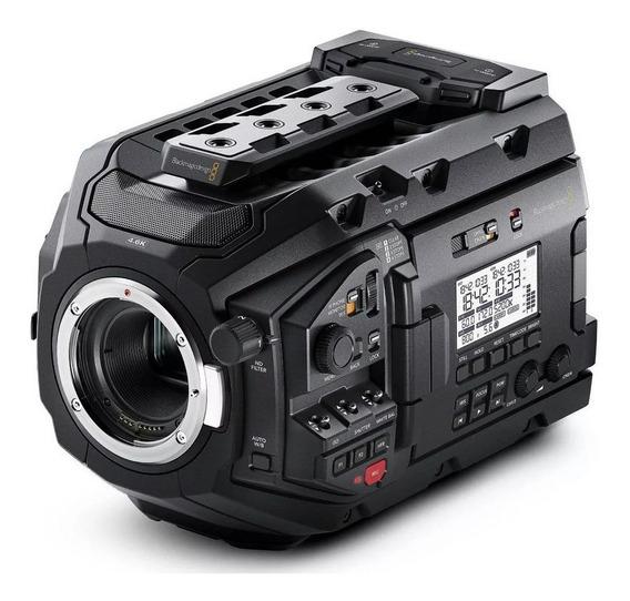 Blackmagic Ursa Mini Pro 4.6k Ef Caixa Lacrada Sp