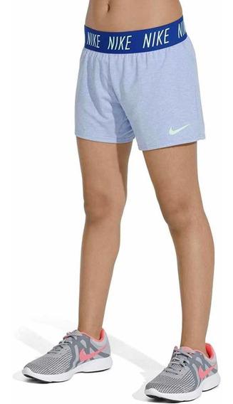 Encargues U.s.a Nike Short Dry-fit Niña Talle Large Original