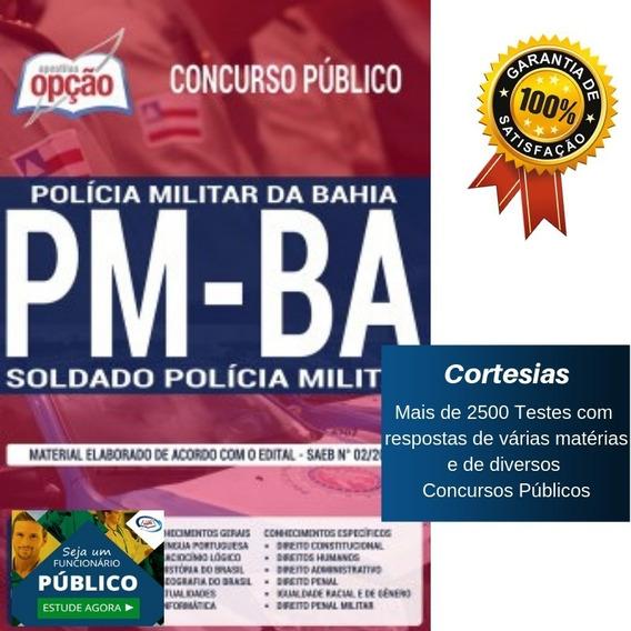 Apostila Soldado Polícia Militar Da Bahia Pm Ba