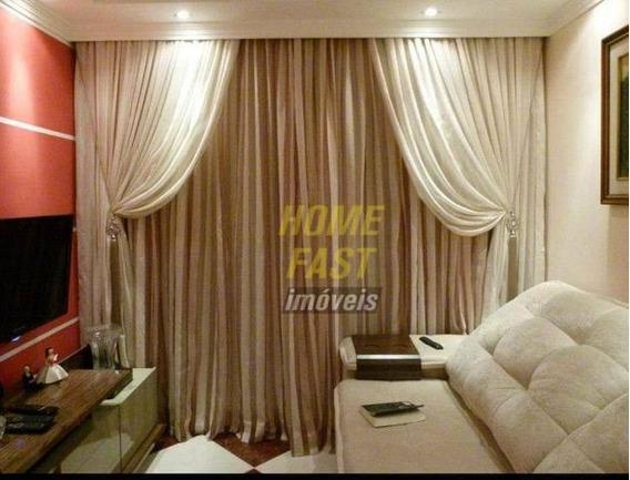 Apartamento Com 3 Dormitórios À Venda, 63 M² Por R$ 315.000,00 - Ponte Grande - Guarulhos/sp - Ap1760