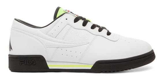 Tenis Hombre Original Fitness Logo Blanco 1fm00003 Fila