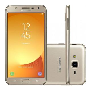 Celular Samsung J7 Neo Dorado Para Repuesto (módulo Roto)
