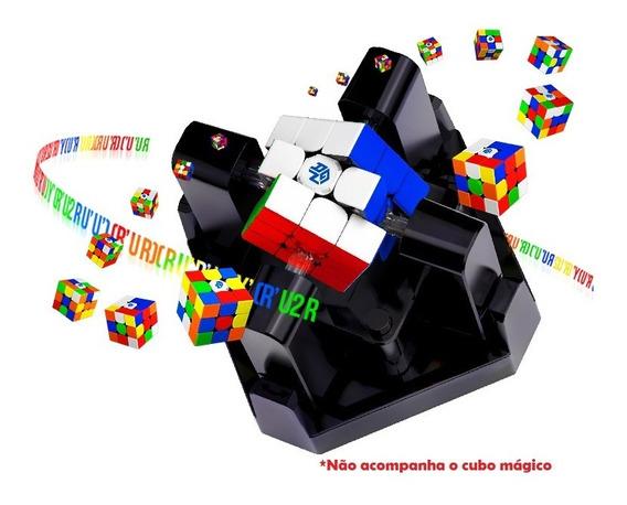 Gan Robot Bluetooth Robô Que Resolve Cubo Mágico 3x3x3 Gan