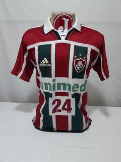 Camisa Fluminense adidas Unimed 2001 Jogo #24