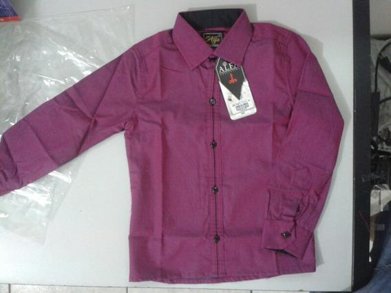 Camisa Lisa Menino