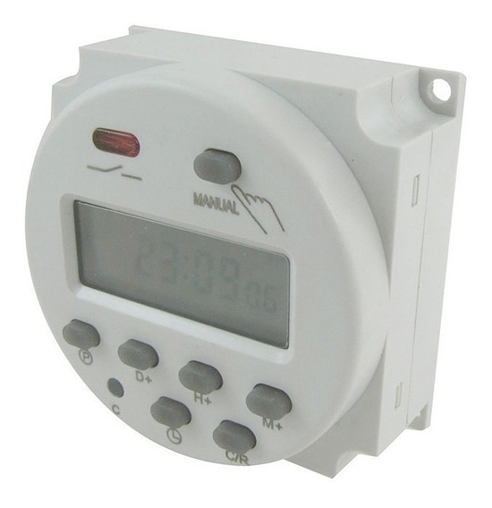 Relé Timer Digit Programável Temporizador 110v