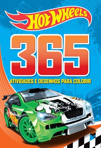 Hot Wheels 365 Atividades Livro Ciranda Cultural Frete 9