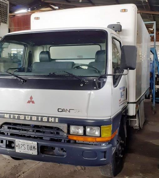 Mitsubishi Canter Año 2002 Con Cava De Fibra