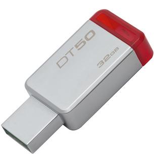 Memoria Usb Kingston Datatraveler 50 De 32gb Usb 3.1