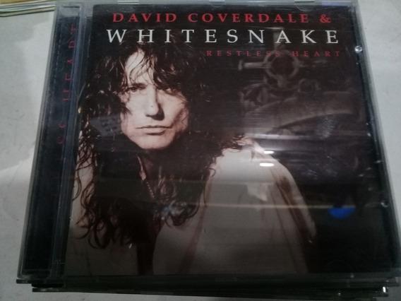 Cd David Coverdale Whitesnake Restless Heart En La Plata