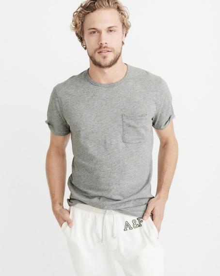 Camiseta Abercrombie Masculina Casacos Blusa Frio Hollister