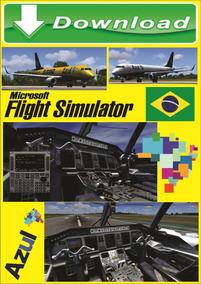 Flight Simulator Fsx Pacote 2019 Aeronaves Cenários Brasil