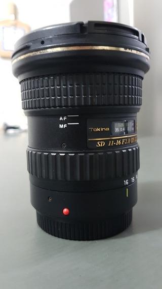 Lente Tokina 11-16 2.8 Canon Dxii